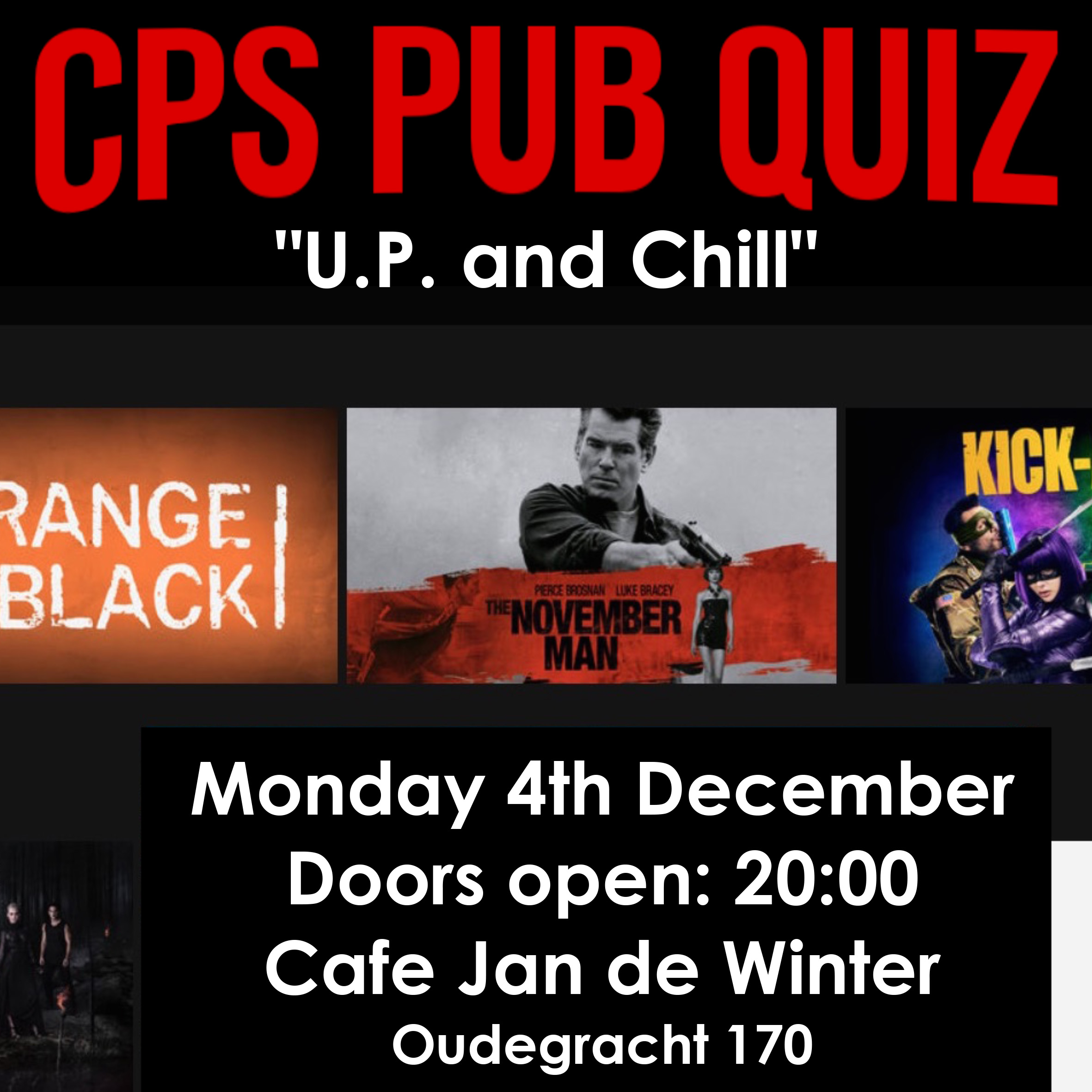 "CPS Pubquiz: ""U.P. and Chill"""