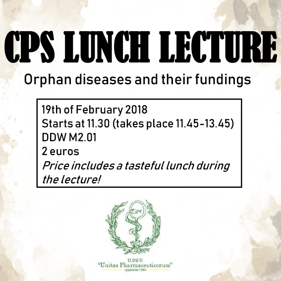 CPS lunch lecture vierkantje