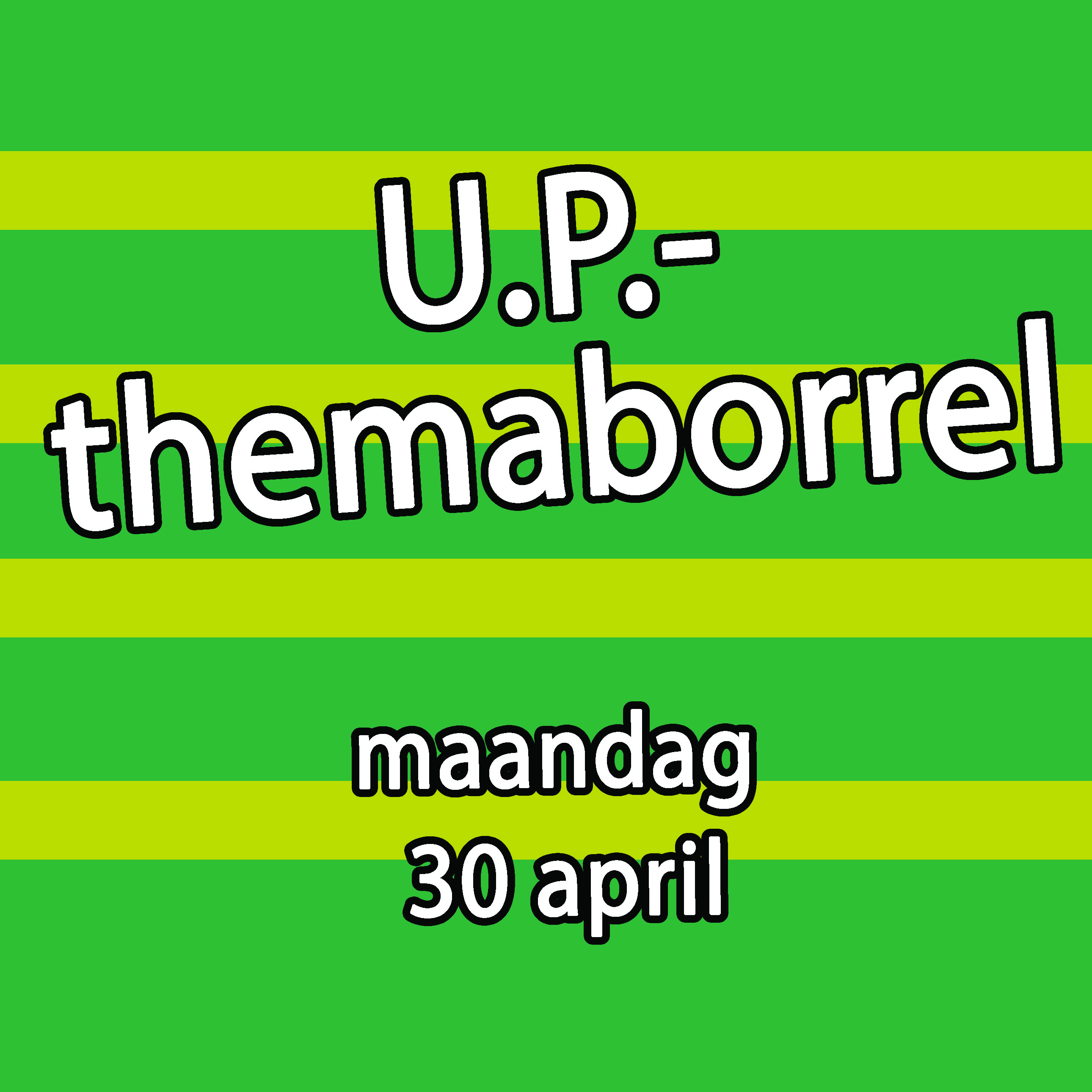 Borrel 30 april