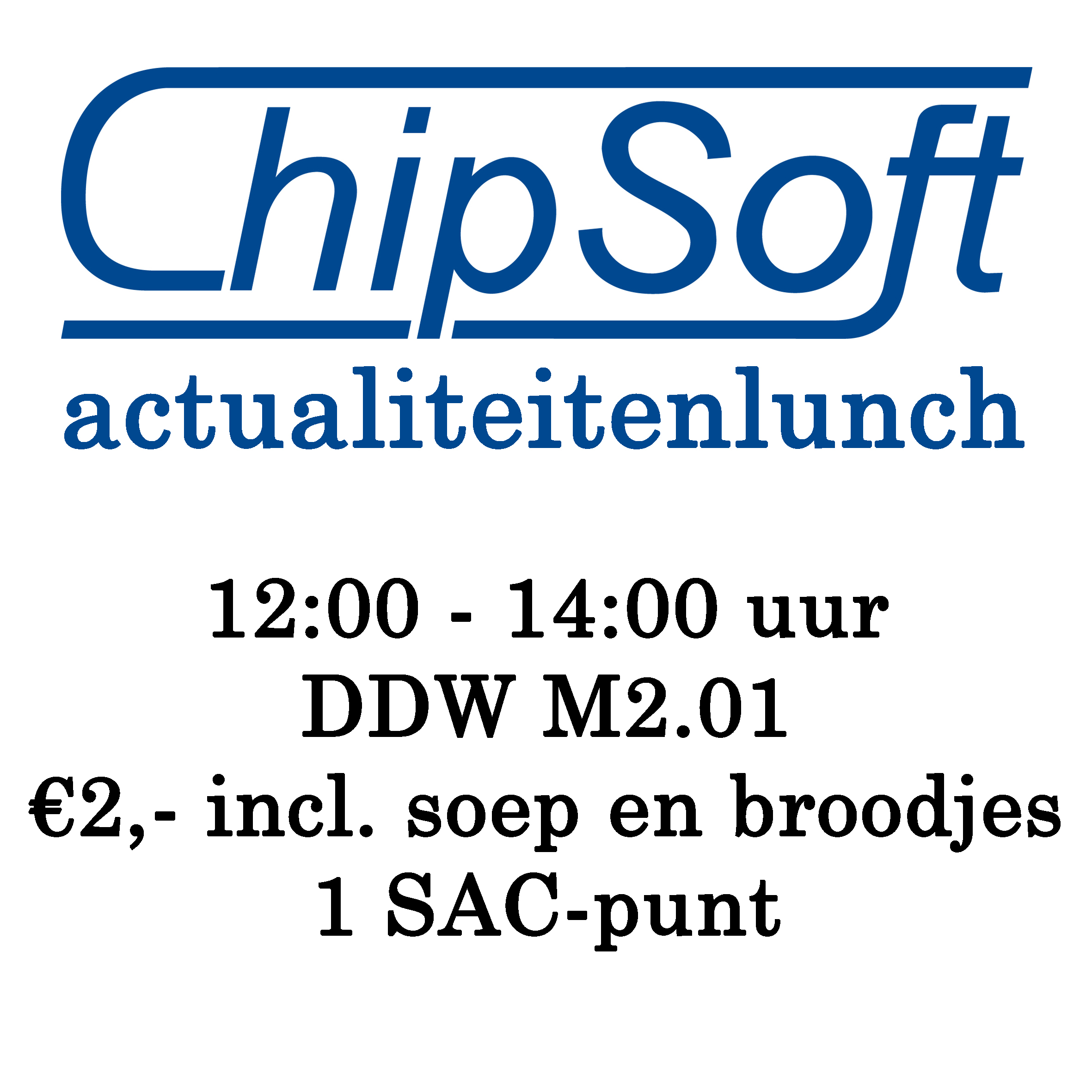 ChipSoft actualiteitenlunch
