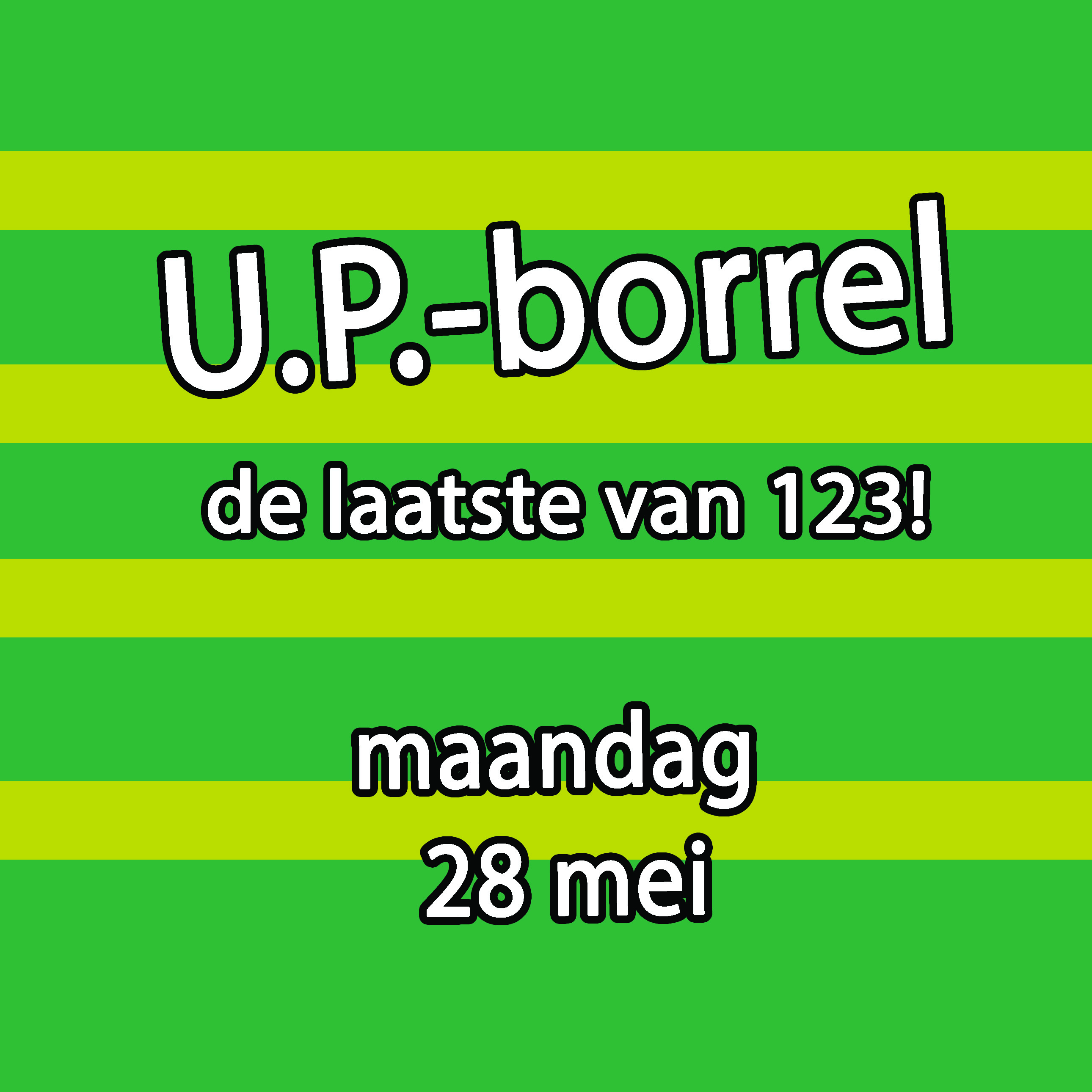 Borrel 28 mei