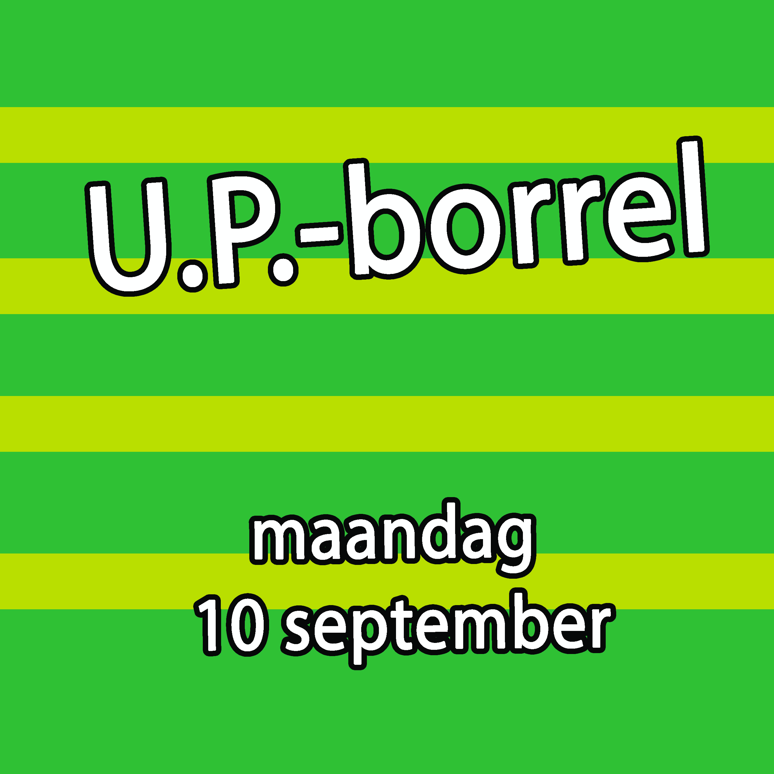 Borrel 10 september