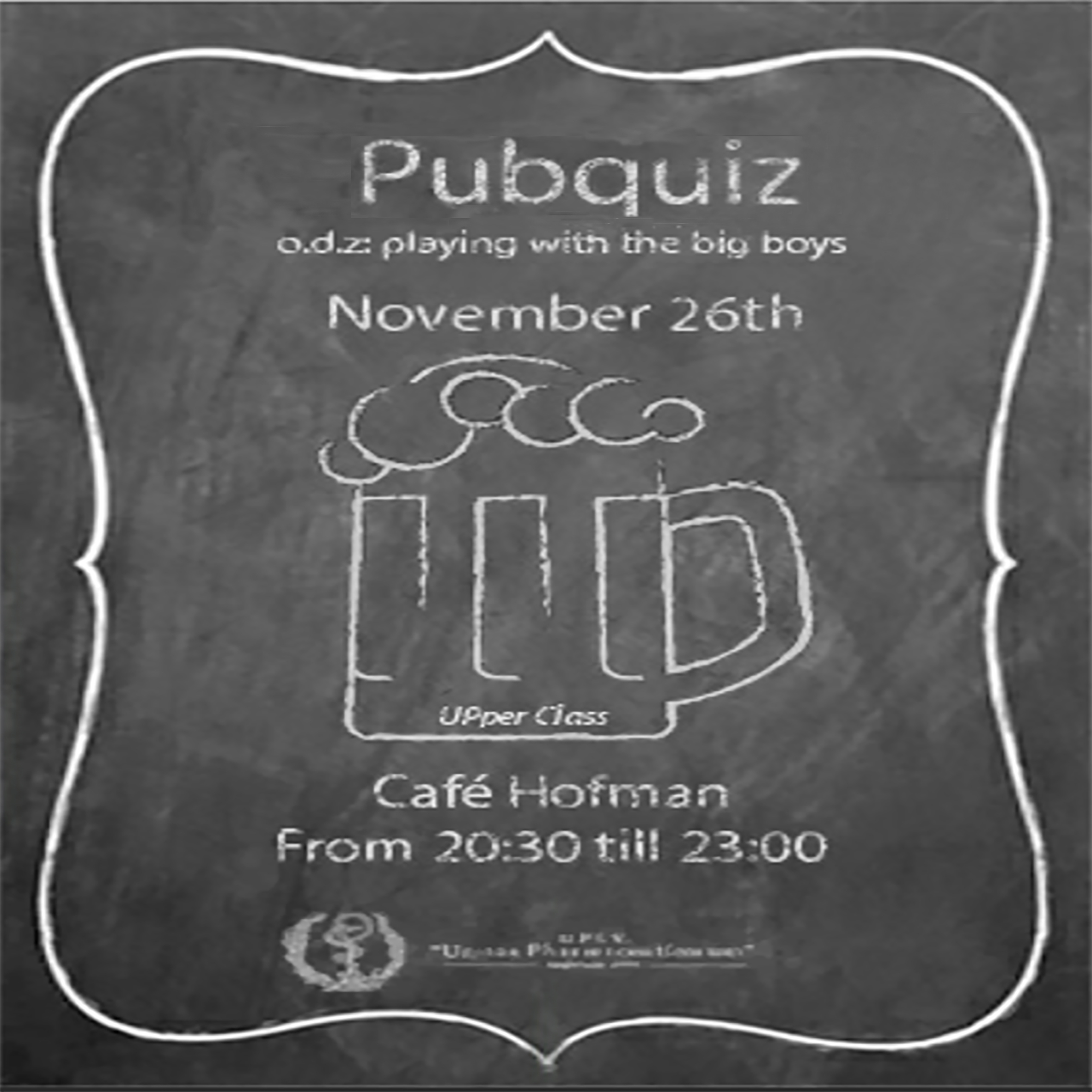 "The Pubquiz: ""Playing with the big boys"""